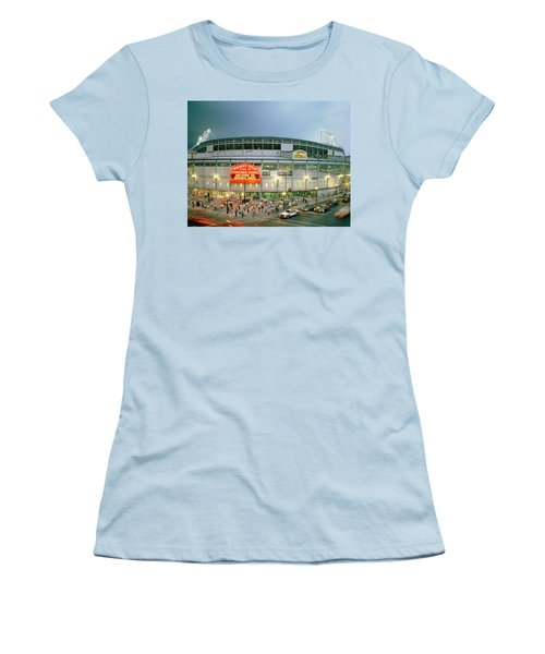 High Angle View Of Tourists Women's T-Shirt (Junior Cut) by Panoramic Images