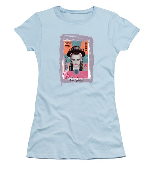Boy George  Women's T-Shirt (Athletic Fit)