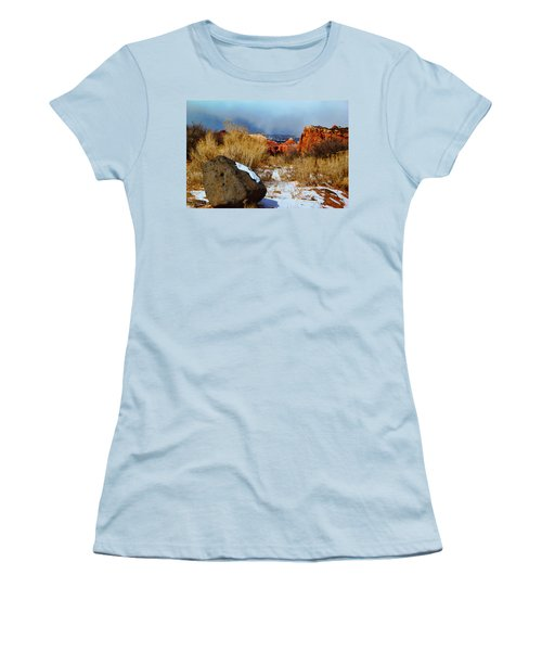 Captiol Reef National Park  Women's T-Shirt (Athletic Fit)