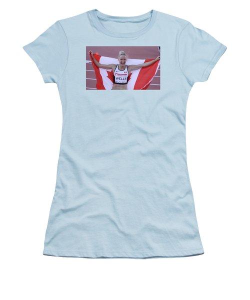 Pam Am Games Athletics Women's T-Shirt (Athletic Fit)