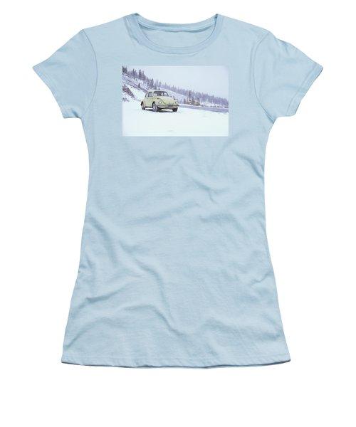 71 Vw Bug Women's T-Shirt (Athletic Fit)