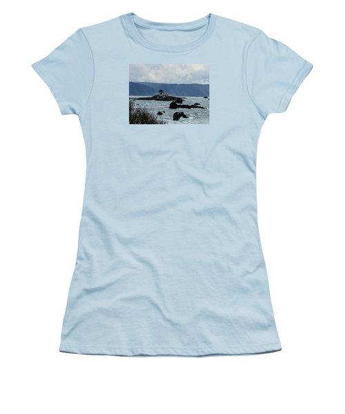 Winter White Women's T-Shirt (Junior Cut) by Marilyn Diaz