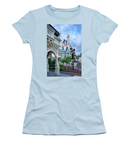 Women's T-Shirt (Junior Cut) featuring the photograph A Different Angle by Greg Fortier