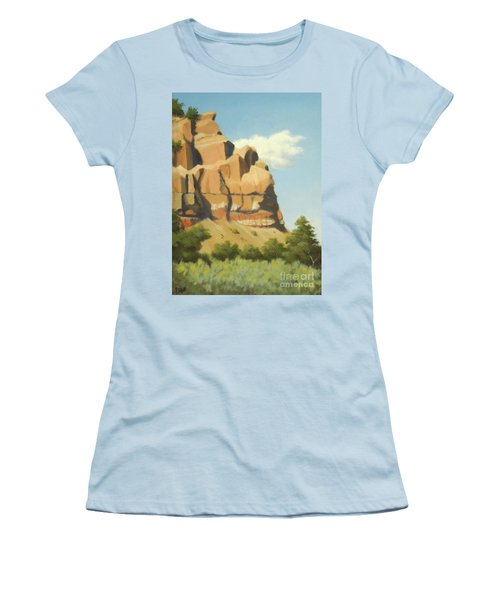 A Face In New Mexico Women's T-Shirt (Athletic Fit)
