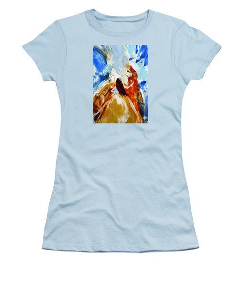 A Hula For You Women's T-Shirt (Junior Cut) by Marionette Taboniar