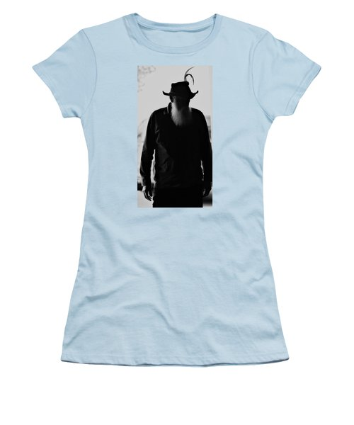 A Man Of Few Words Women's T-Shirt (Athletic Fit)