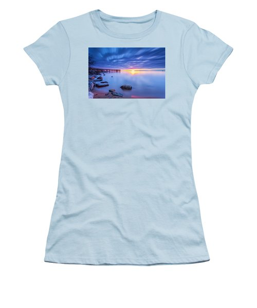 A New Dawn Women's T-Shirt (Junior Cut) by Edward Kreis