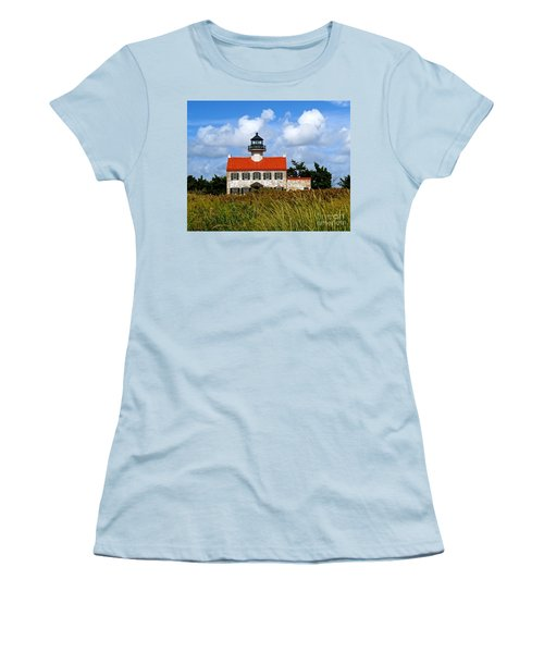 A New Day At East Point Light Women's T-Shirt (Athletic Fit)