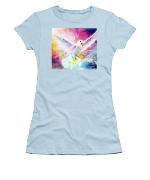 A Peace Dove Women's T-Shirt (Athletic Fit)