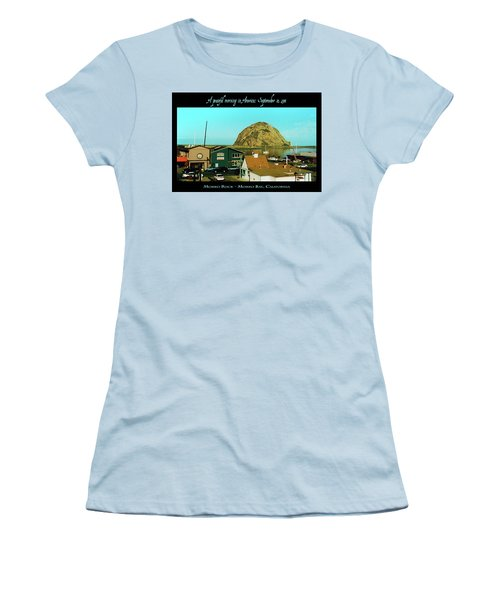A Peaceful Morning In America 9-10-01 Women's T-Shirt (Athletic Fit)