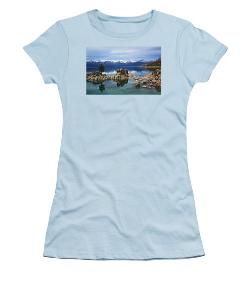 Women's T-Shirt (Athletic Fit) featuring the photograph A Place To Call Home by Sean Sarsfield