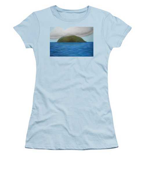 Hope- The Island  Women's T-Shirt (Athletic Fit)