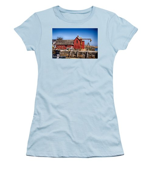 A Rockport Favorite Women's T-Shirt (Junior Cut) by Tricia Marchlik