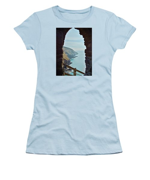 A Room With A View Women's T-Shirt (Junior Cut) by Richard Brookes