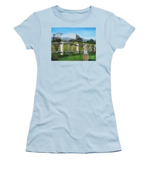 A Special Visitor From The Past Women's T-Shirt (Athletic Fit)