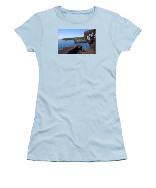 Women's T-Shirt (Junior Cut) featuring the photograph A Superior View by Sandra Updyke