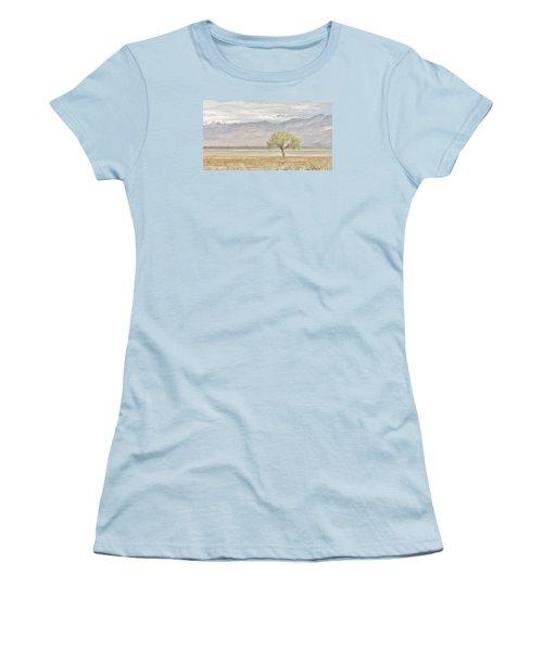 A Sweet Scene Women's T-Shirt (Junior Cut) by Marilyn Diaz