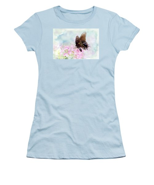 A Touch Of Heaven Women's T-Shirt (Athletic Fit)