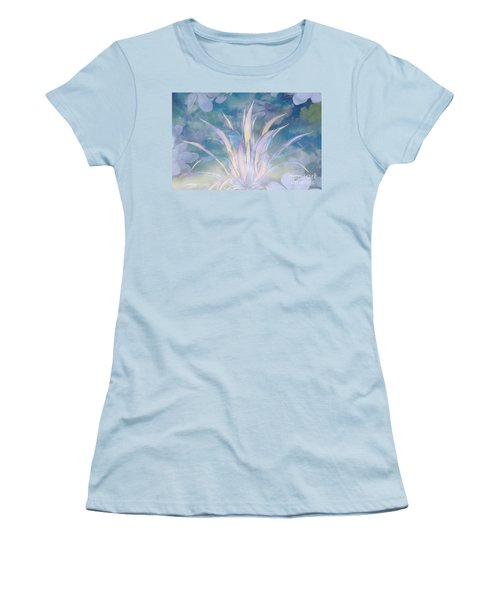 A Touch Of Spring Women's T-Shirt (Junior Cut) by Sherri's Of Palm Springs