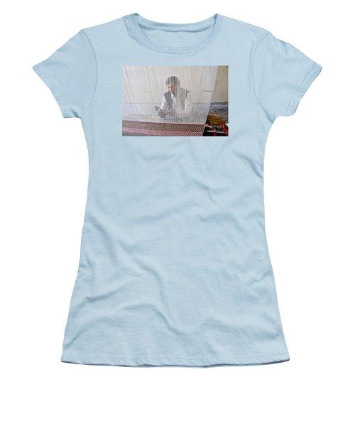 A Weaver Weaves A Carpet. Women's T-Shirt (Athletic Fit)