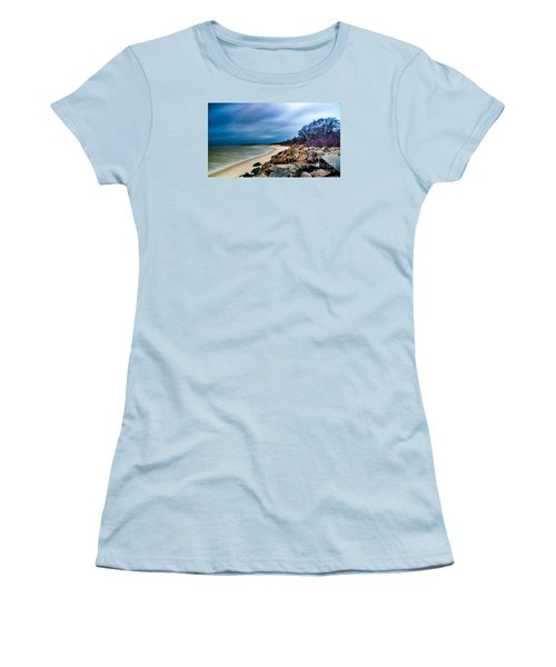 A Winter's Beach Women's T-Shirt (Athletic Fit)