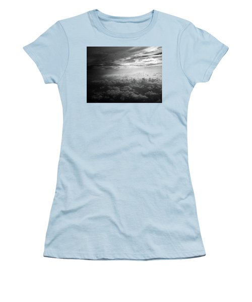 Above Earth 3 Women's T-Shirt (Athletic Fit)