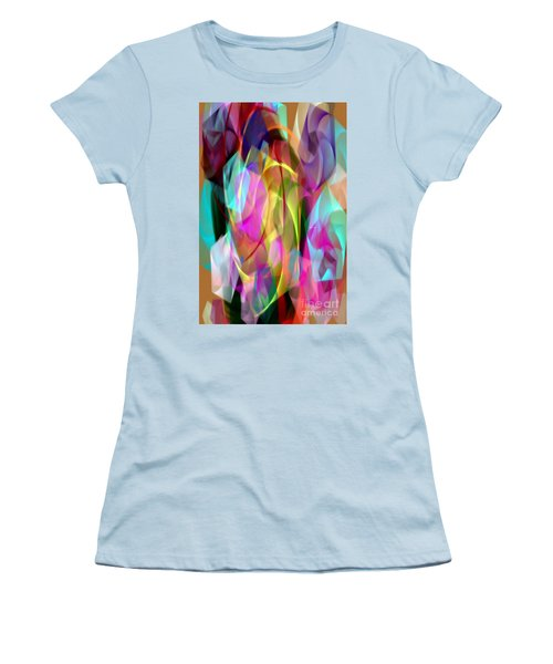 Women's T-Shirt (Athletic Fit) featuring the digital art Abstract 3366 by Rafael Salazar