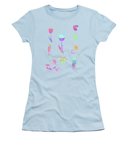 Abstract 433 Women's T-Shirt (Athletic Fit)