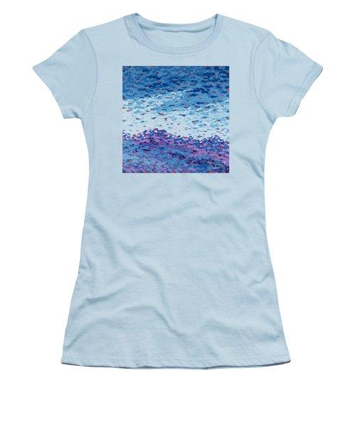 Abstract Landscape Painting 2 Women's T-Shirt (Junior Cut) by Gordon Punt