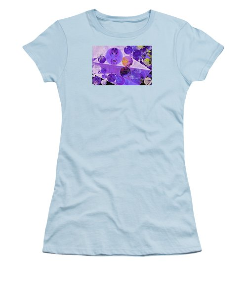 Abstract Painting - Blackcurrant Women's T-Shirt (Athletic Fit)