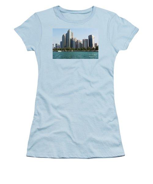 Women's T-Shirt (Junior Cut) featuring the photograph Abu Dhabi by Hanza Turgul