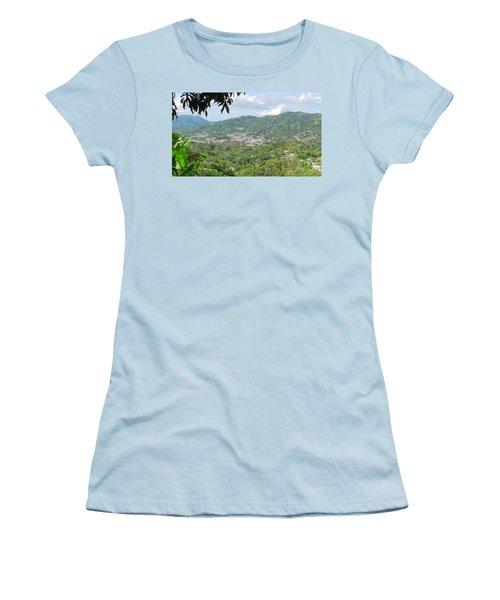Adjuntas Town Women's T-Shirt (Athletic Fit)