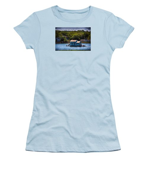 Afloat Women's T-Shirt (Junior Cut) by Tricia Marchlik