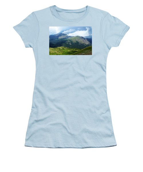 Women's T-Shirt (Junior Cut) featuring the photograph After The Storm by Marie Leslie