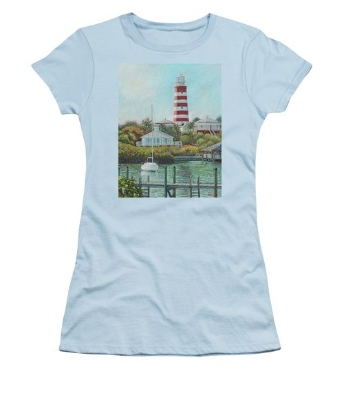 Afternoon In Hope Town Women's T-Shirt (Athletic Fit)