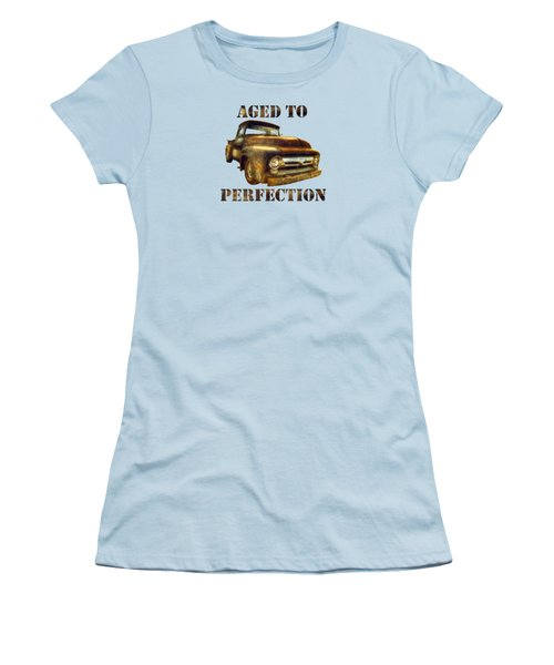 Aged To Perfection Women's T-Shirt (Athletic Fit)
