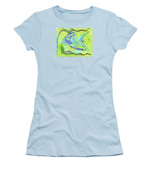 Aigikampos Women's T-Shirt (Junior Cut) by Robert Nickologianis