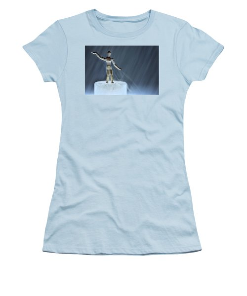 Airbender Women's T-Shirt (Athletic Fit)
