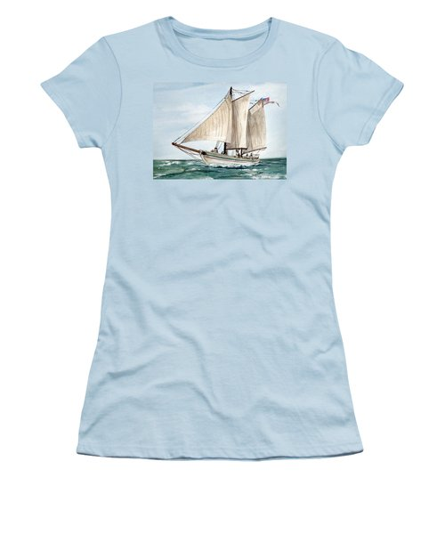 Aj Meerwald  Women's T-Shirt (Athletic Fit)