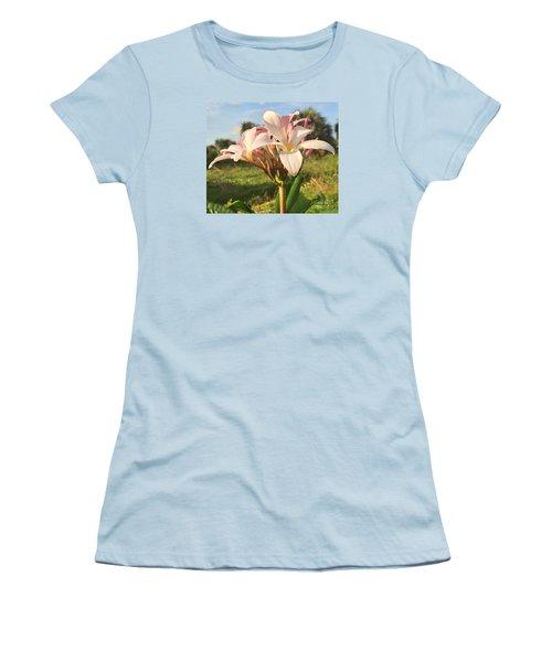 Aloha Women's T-Shirt (Junior Cut) by LeeAnn Kendall