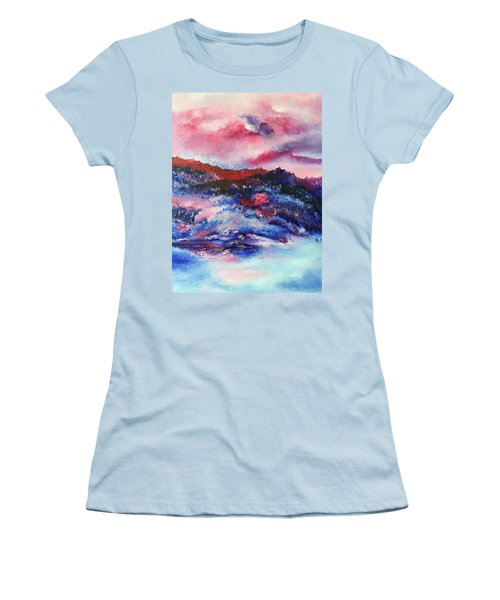 Alpenglow Women's T-Shirt (Athletic Fit)