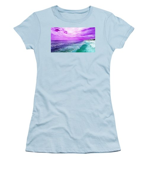 Alternate Beach Escape Women's T-Shirt (Junior Cut)