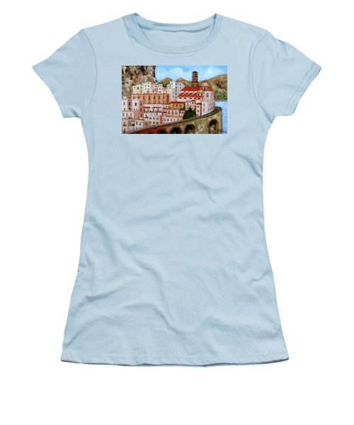 Amalfi Coast Women's T-Shirt (Athletic Fit)