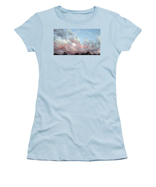 Amazing Clouds At Dusk Women's T-Shirt (Athletic Fit)