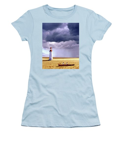 Amber Waves Of Grain Women's T-Shirt (Athletic Fit)