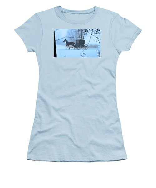 Amish Dreamscape Women's T-Shirt (Athletic Fit)
