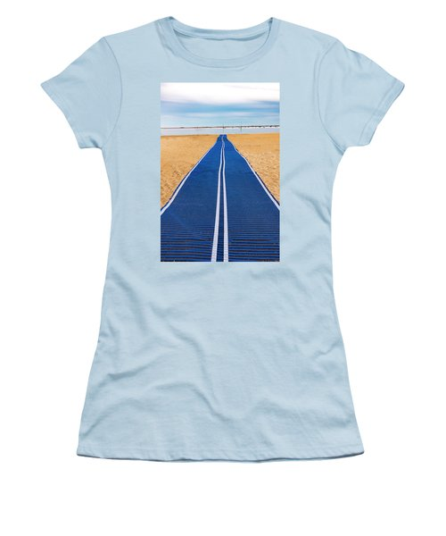 Women's T-Shirt (Athletic Fit) featuring the photograph An Uncommon Path by Paul Wear