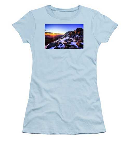 Women's T-Shirt (Junior Cut) featuring the photograph And Then There Was Light by Kristal Kraft