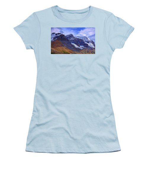 Mount Andromeda Women's T-Shirt (Junior Cut) by Heather Vopni