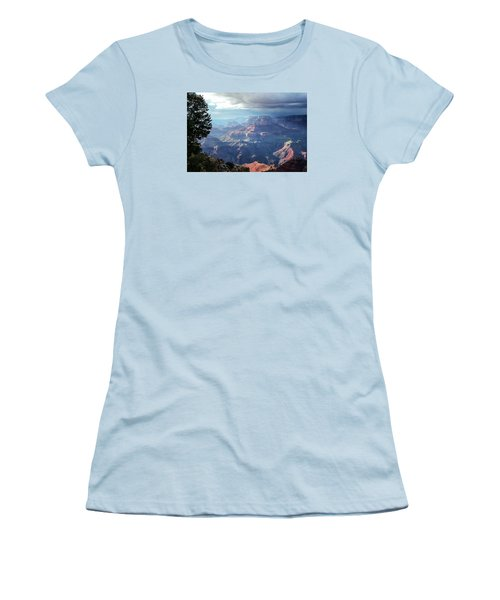 Angel S Gate And Wotan S Throne Grand Canyon National Park Women's T-Shirt (Athletic Fit)